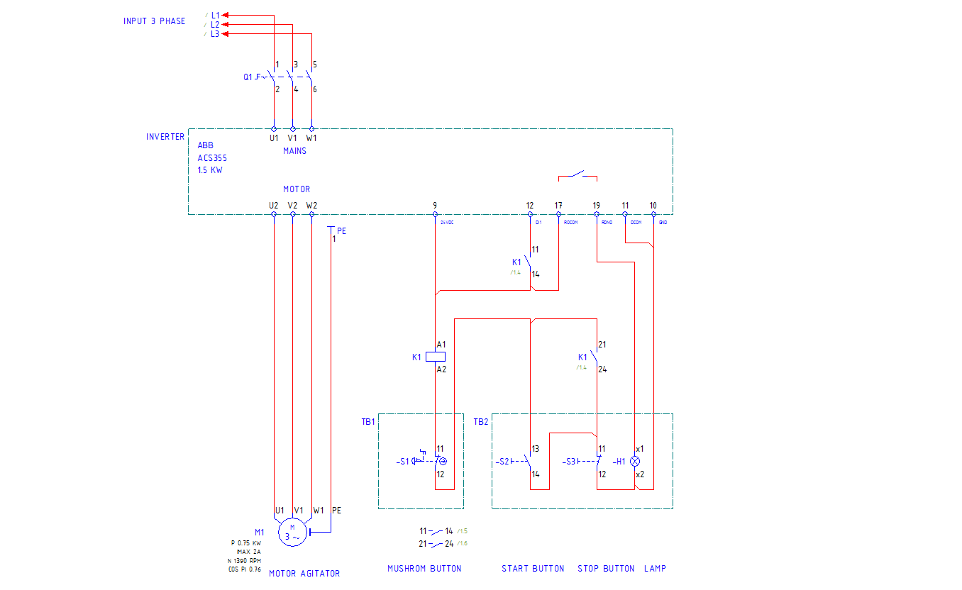 Instalasi sederhana variable speed drive abb acs355 automationid diagram inverter motor control abb swarovskicordoba
