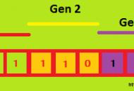 Teknik Penyandian Kromosom 3 Gen dengan Teknik String Bit